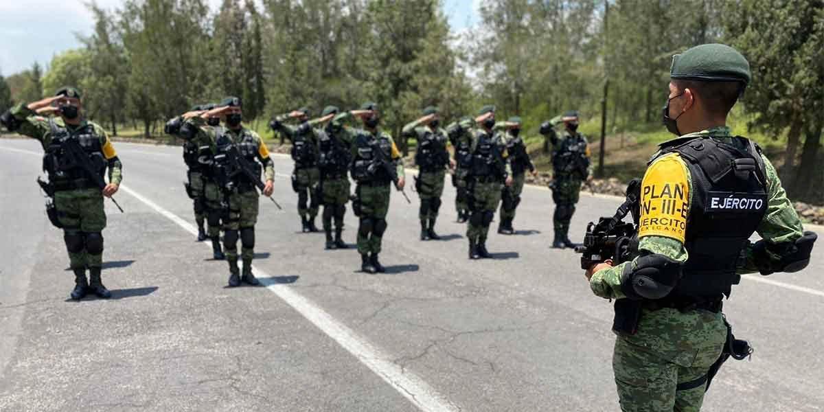 Guardia Nacional, Sedena y Marina llevan a cabo ensayo general previo al desfile militar del 16 de septiembre