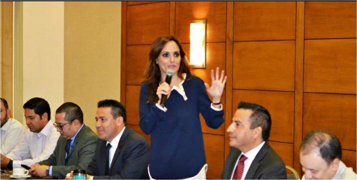 Lilly Téllez a Calderón: trata de sabotear acciones por seguridad