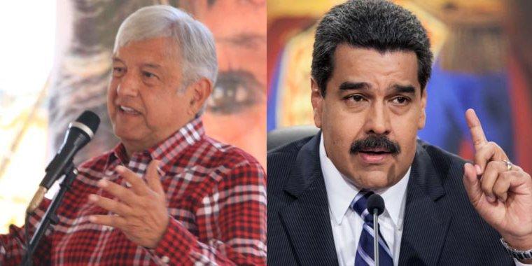 19 expresidentes piden a AMLO no invitar a Maduro a investidura