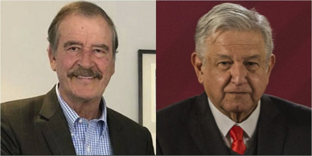 Vicente Fox revira a AMLO: Doctrina Estrada está rebasada