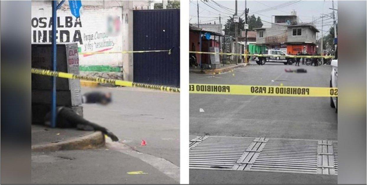 'Justiciero' frustra robo y asesina a ladrones en transporte de Edomex