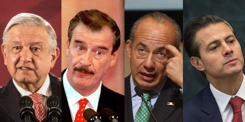 ¿Cuánto miden los presidentes de México, el más alto y el de menor estatura?