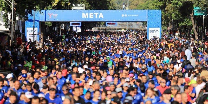 Confirman Maratón de CDMX, solo podrán entrar personas vacunadas contra COVID-19