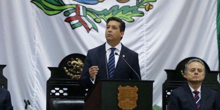 Congreso de Tamaulipas palomea protección de por vida a García Cabeza de Vaca