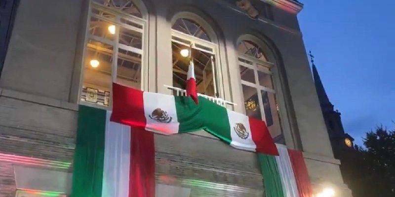 Esteban Moctezuma dio su primer Grito de Independencia como embajador en EUA: '¡Vivan nuestros migrantes!'