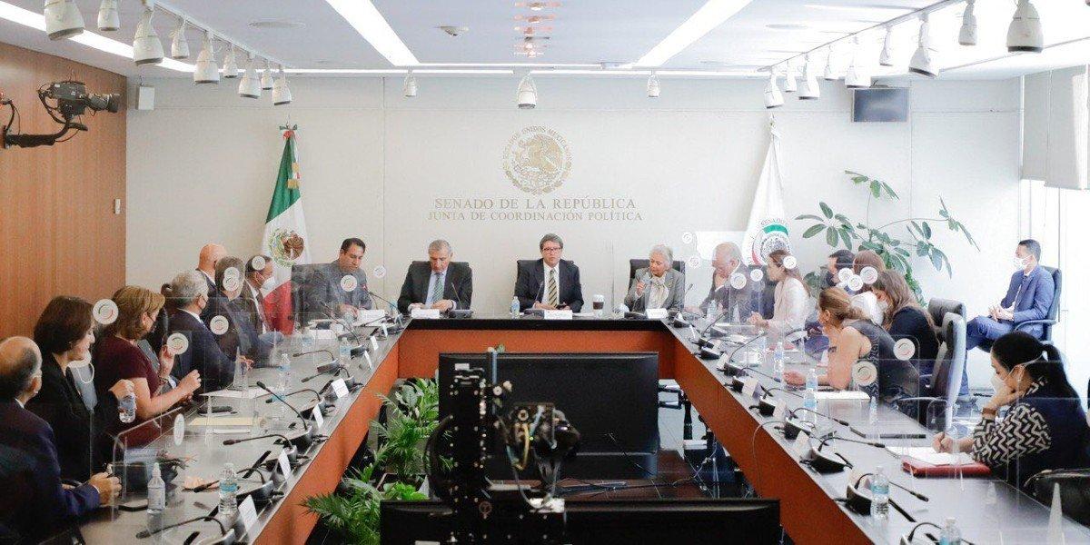 Adán Augusto López, único interlocutor entre el Congreso y Ejecutivo Federal, dice Monreal