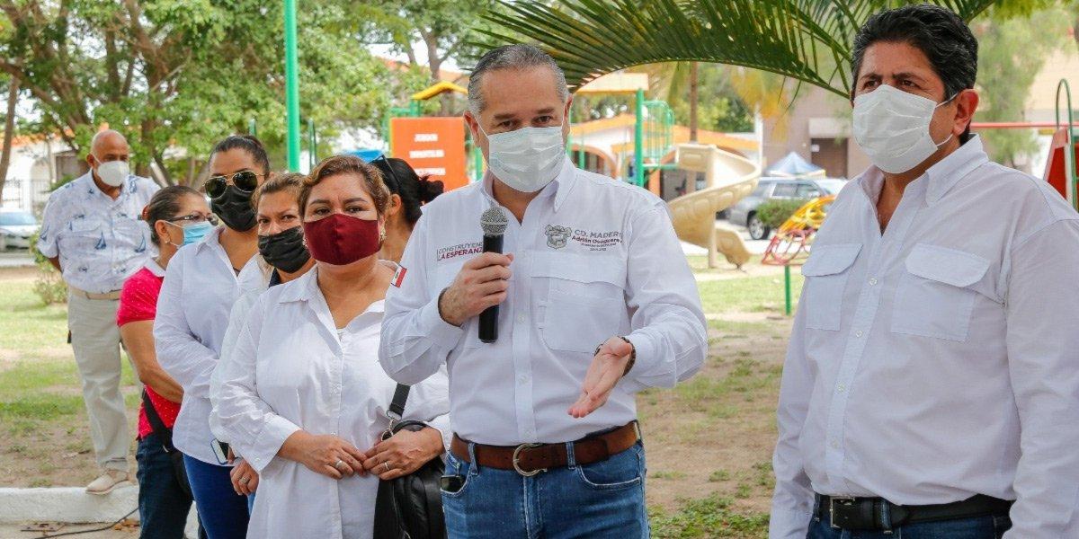 Adrián Oseguera de Tamaulipas es uno de los alcaldes más reconocidos del país