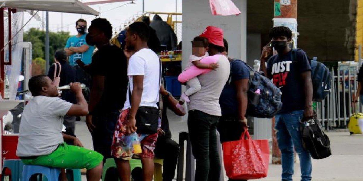 Haitianos rebasan Casa de la Caridad; llama a autoridades a proporcionar ayuda humanitaria