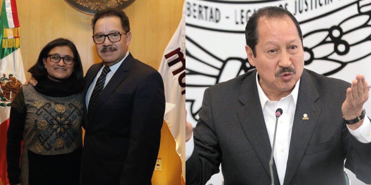 Morena elige a Aleida Alavez Ruiz y a Leonel Godoy como vicecoordinadores en San Lázaro