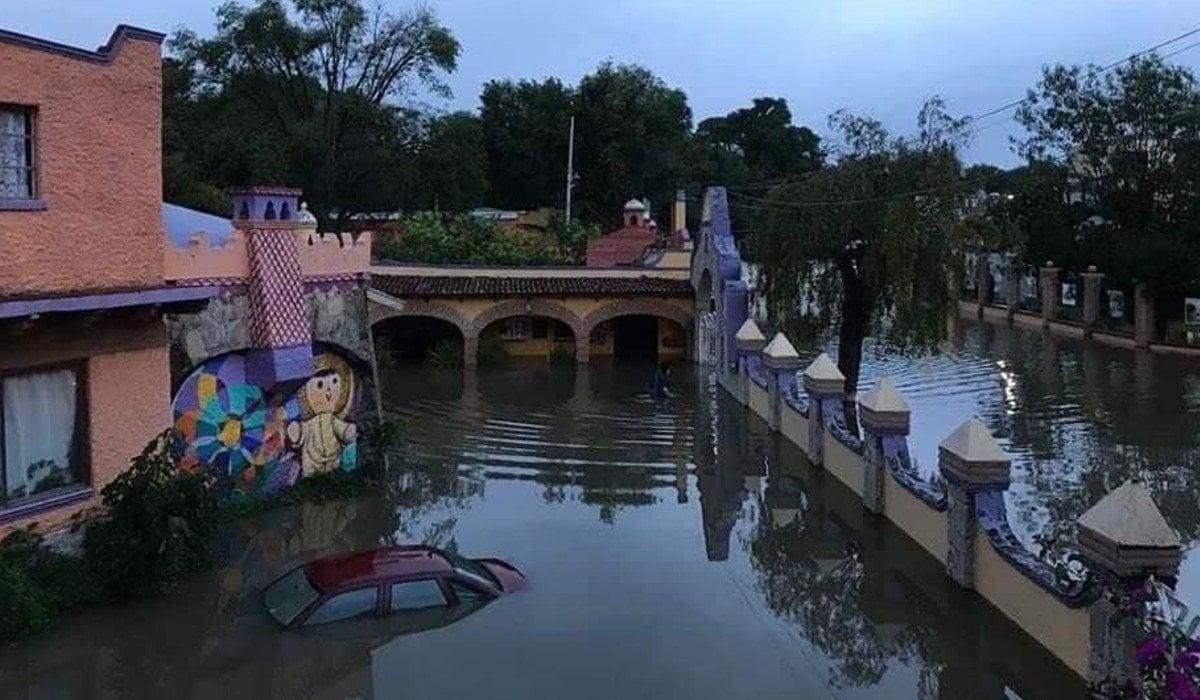 Llama ayuntamiento de Tequisquiapan a pobladores a estar alerta para desalojar por riesgo de inundaciones