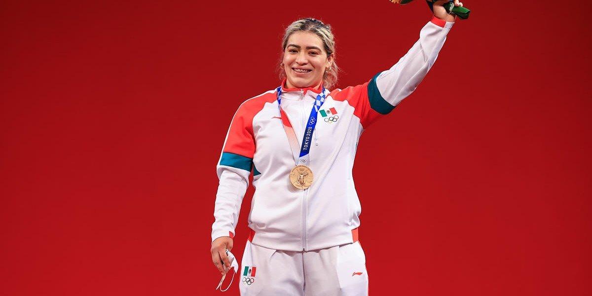 Aremi Fuentes, medallista olímpica, sigue sin cobrar cheque que le dio gobierno de BC; no tiene fondos