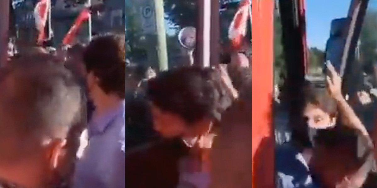 Atacan a Justin Trudeau con piedras durante acto de campaña