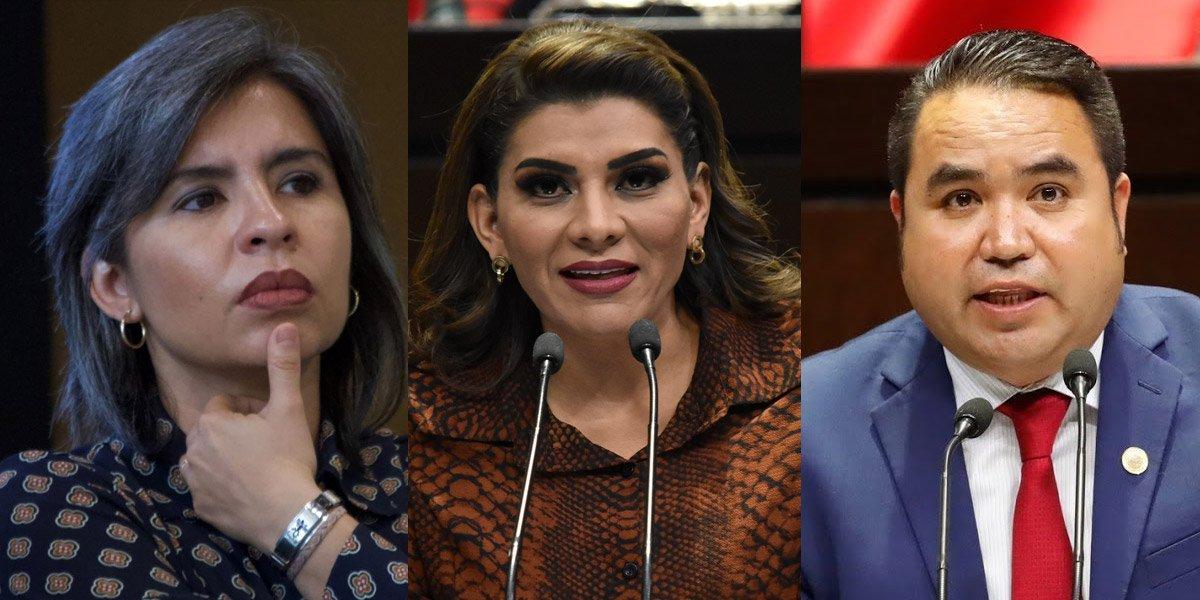 Tres diputados de Morena dejan su curul para sumarse a gobierno de Durazo