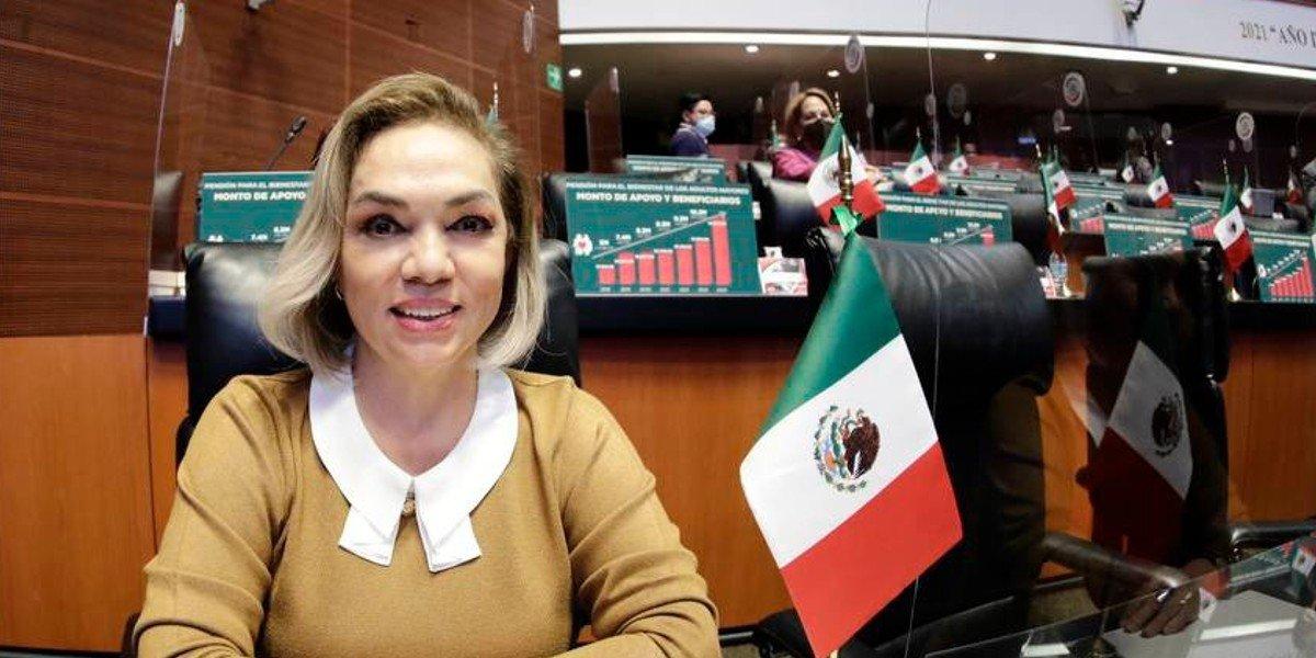 Senadora Cecilia Sánchez tendría apoyo de Palacio para el Sindicato de Pemex