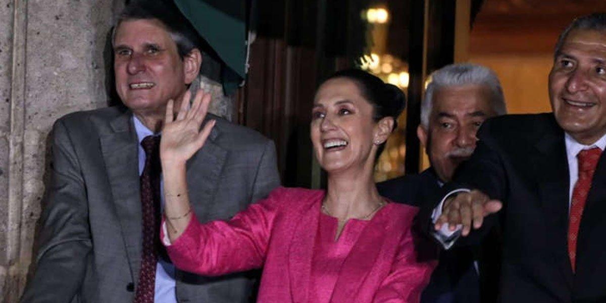 Jesús María Tarriba, el acompañante de Sheinbaum al grito en Palacio Nacional