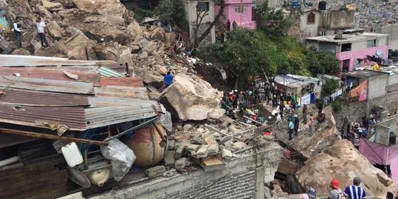 136 viviendas tendrán que ser desalojadas en Cerro del Chiquihuite por riesgo de nuevo derrumbe