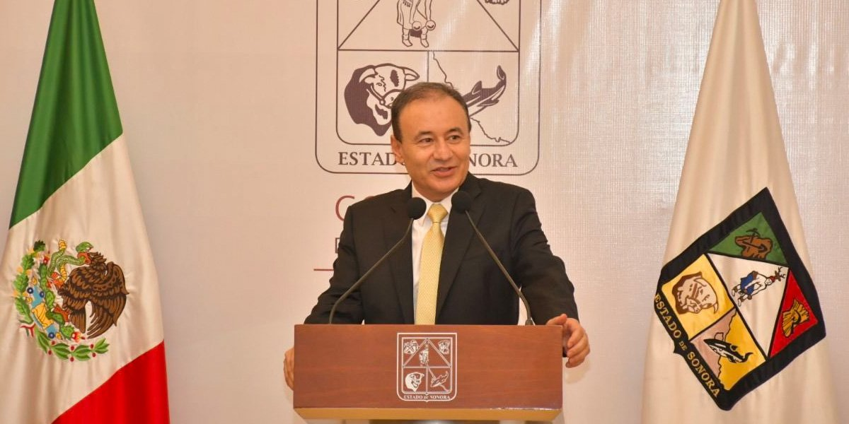 Alfonso Durazo rinde protesta como gobernador constitucional de Sonora