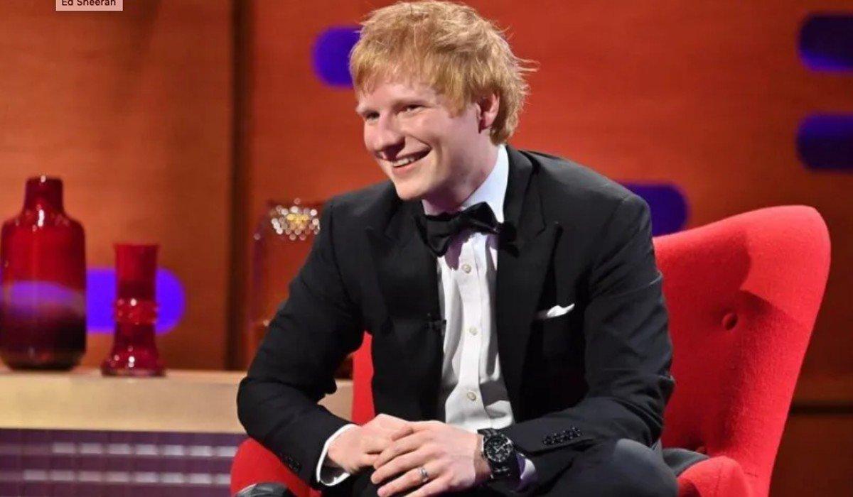 Ed Sheeran revela que planea regalarle una escultura de un pene gigante a Sam Smith