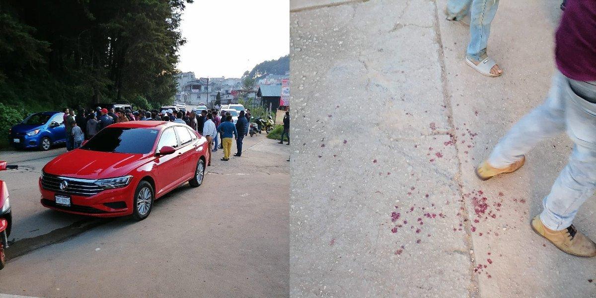 Enfrentamiento entre civiles en Chiapas deja un muerto y al menos ocho heridos