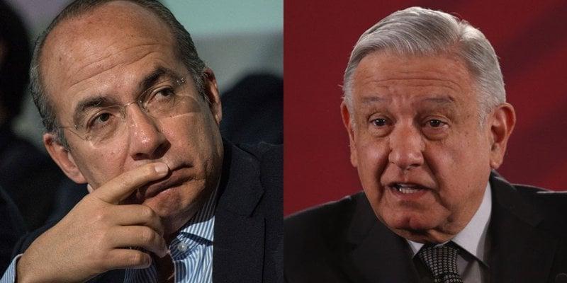 Felipe Calderón acusa a AMLO de persecución política en su contra