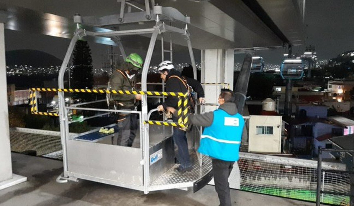 Empresa operadora de L2 Cablebús tendrá que pagar una sanción por falla en el sismo del 7 de septiembre