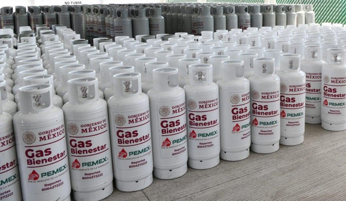 AMLO busca que Gas Bienestar se haga cargo del 51% del mercado de gas LP en México