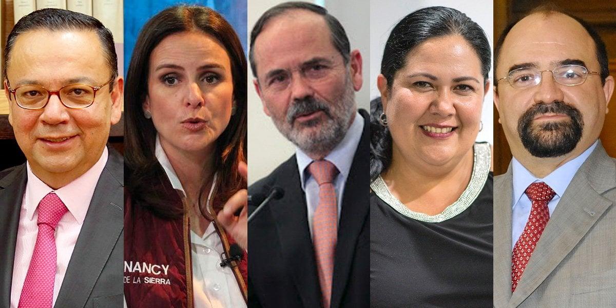 5 senadores buscan formar su propia bancada 'libre de cualquier formación partidista'