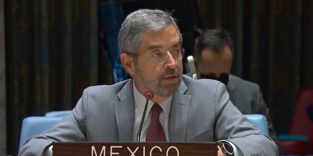 México pide a la ONU garantizar ayuda humanitaria a Afganistán tras llegada del Talibán