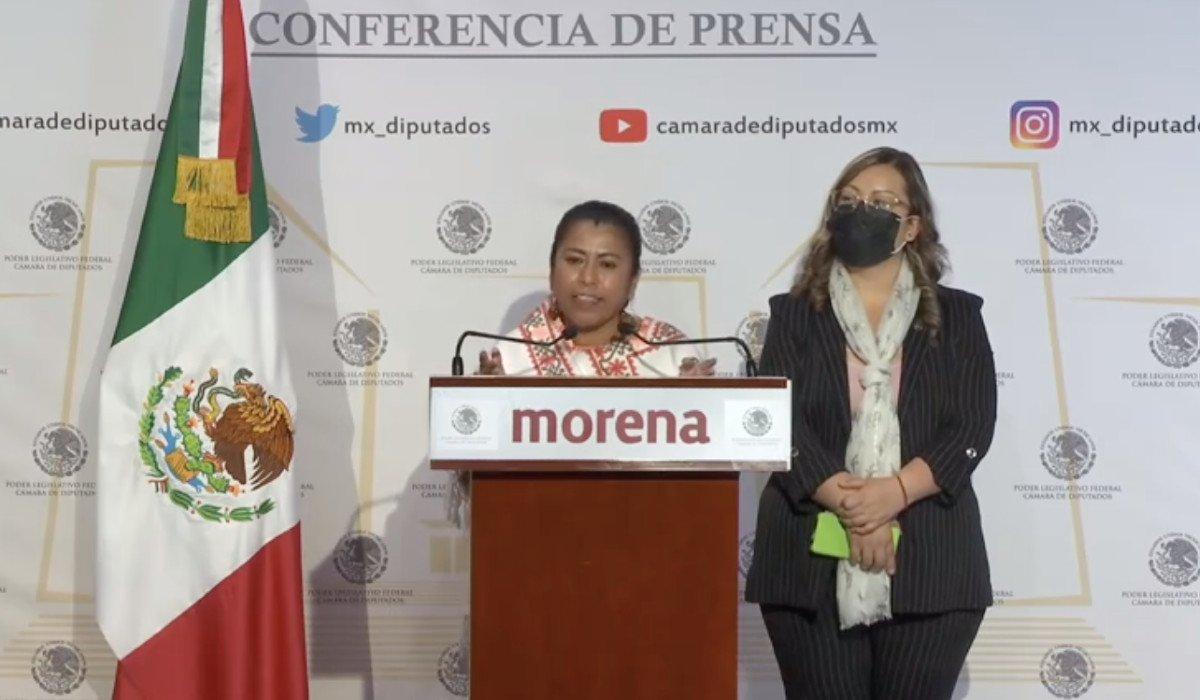 Diputada indígena de Morena se pronunció en contra del retiro de la estatua de Cristóbal Colón en Reforma