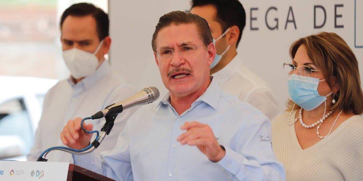 Gobernador de Durango afirma que no habrá intromisión en las elecciones de 2022