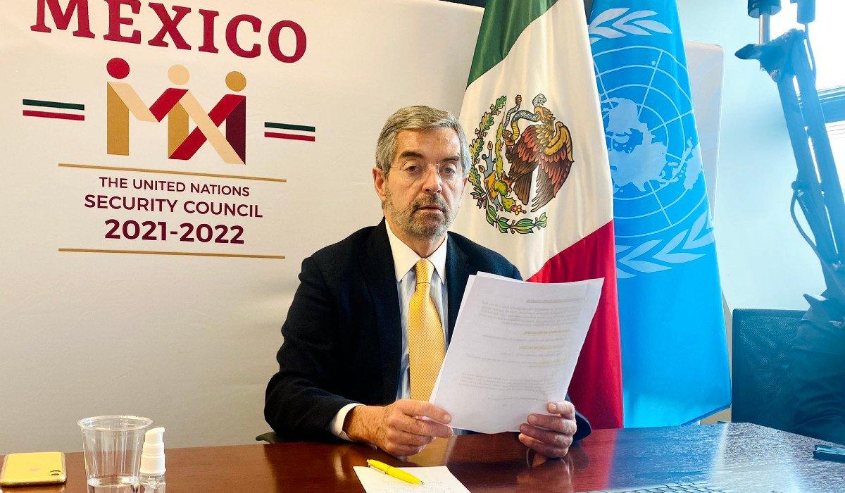 México denuncia en la ONU el tráfico ilícito de armas pequeñas y ligeras como amenaza internacional