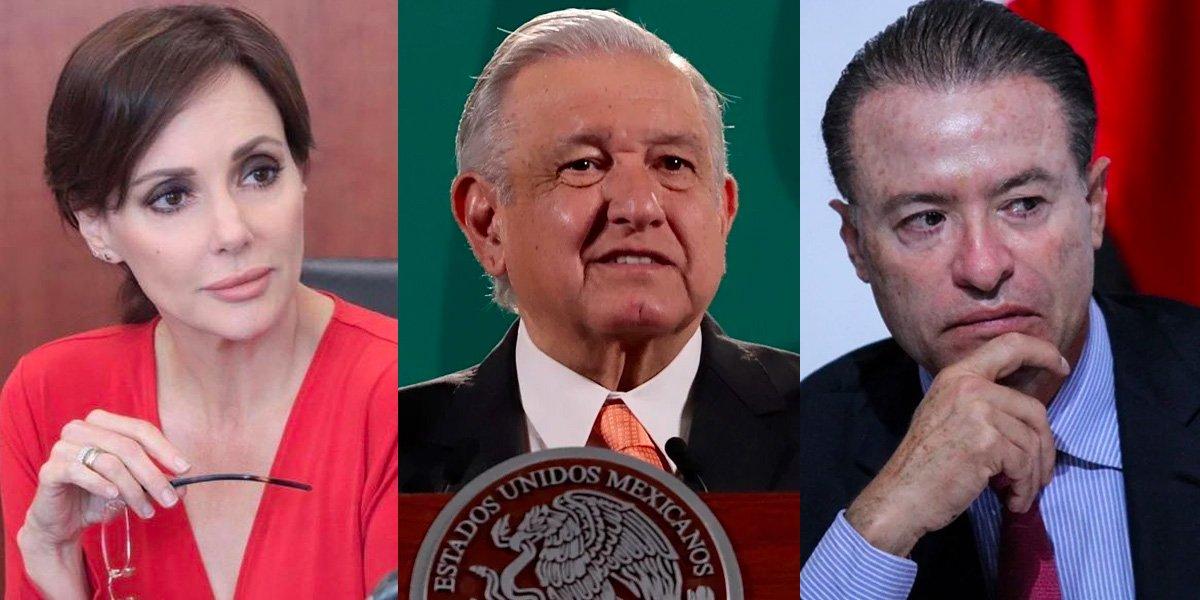 Lilly Téllez criticó apoyo de AMLO a Quirino Ordaz: 'en la 4T Don dinero va primero'