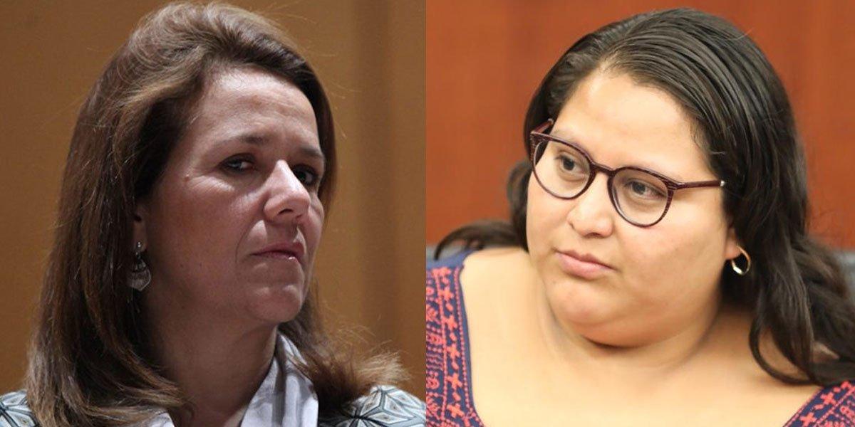 Citlalli Hernández y Margarita Zavala se enfrentan en Twitter por su viaje a España