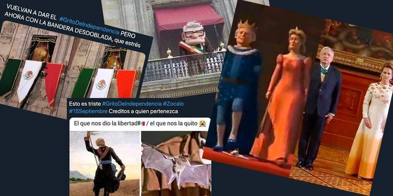 Grito de Independencia de AMLO generó memes en redes sociales