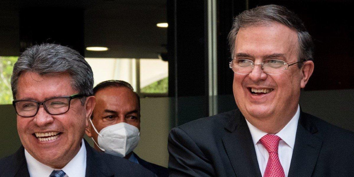 Monreal elogia a Ebrard tras comparecencia en Senado: es un hombre inteligente y preparado