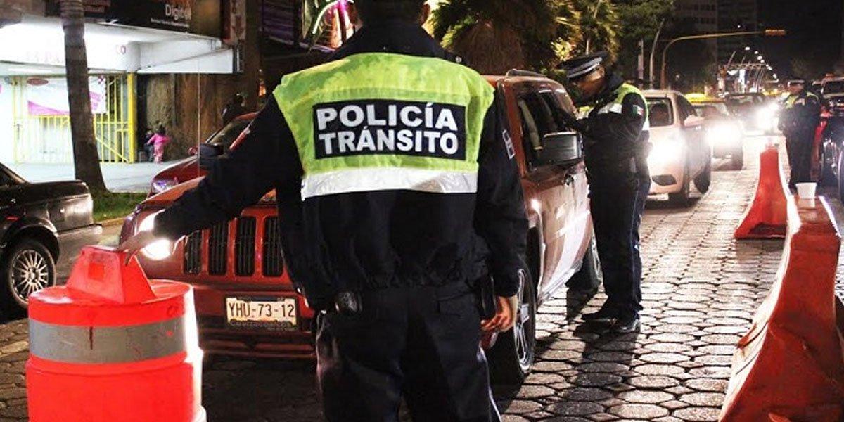 Aplicarán alcoholímetro en Puebla durante la noche del 15 de septiembre