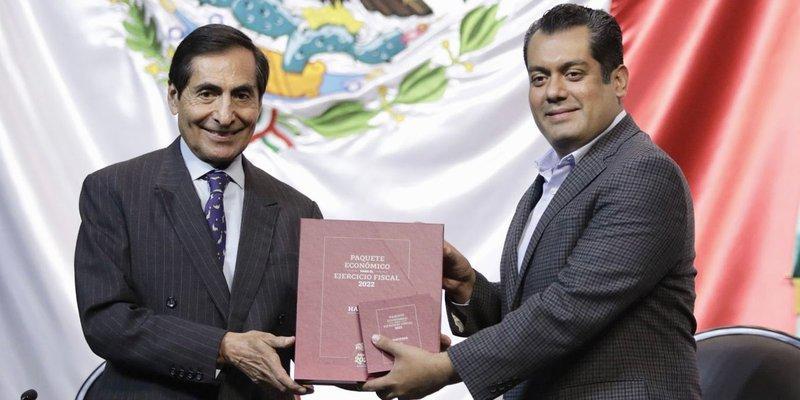 Hacienda entrega Paquete Económico 2022 en San Lázaro: 'no se incrementan, ni se crean nuevos impuestos'