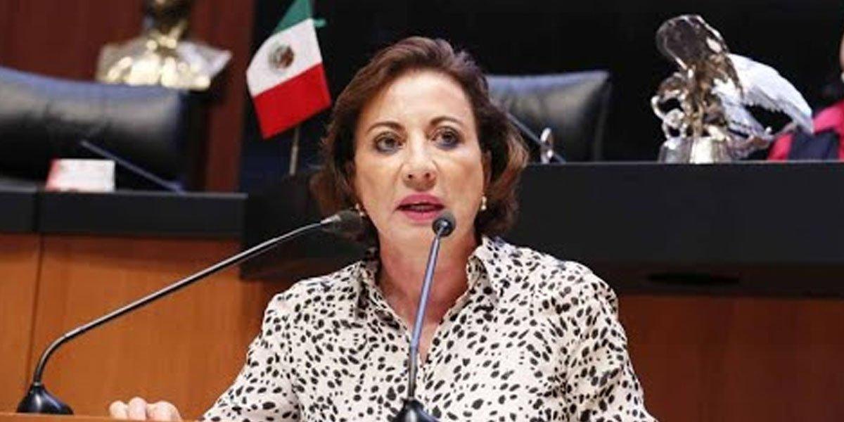 Senado otorga licencia a Guadalupe Murguía; se irá como secretaria de Gobierno de Mauricio Kuri