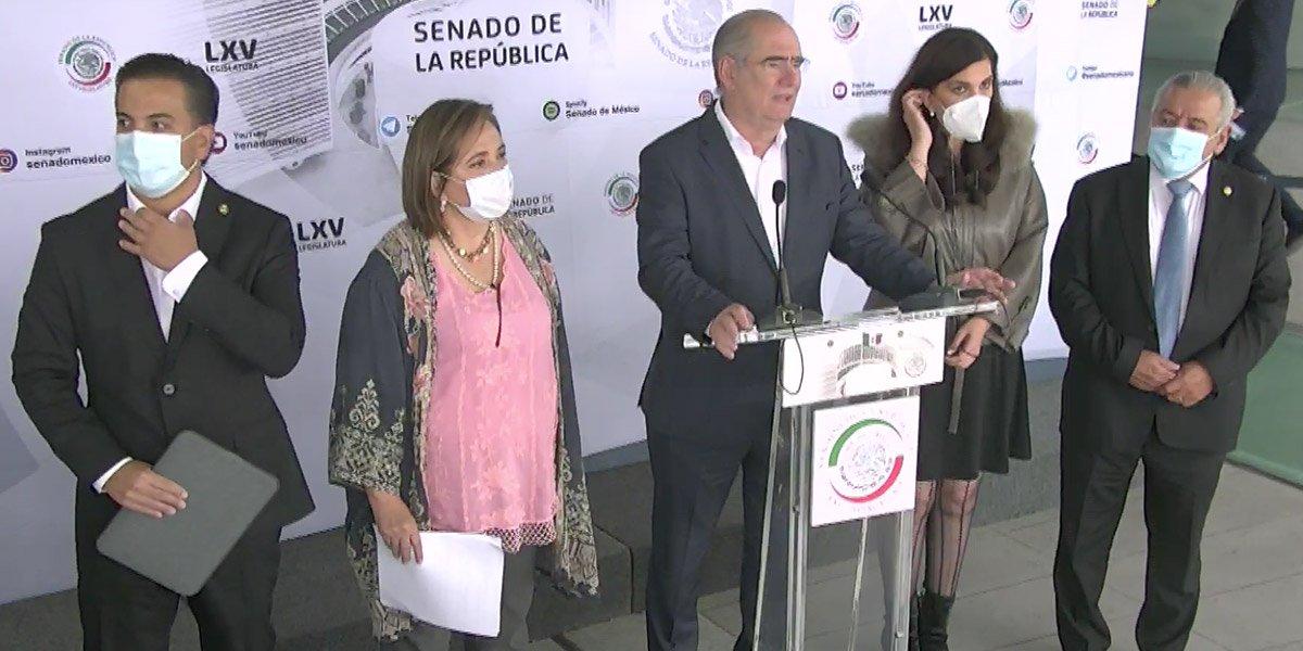 PAN exige a AMLO la salida de Delfina Gómez de la SEP por retención de sueldo a trabajadores