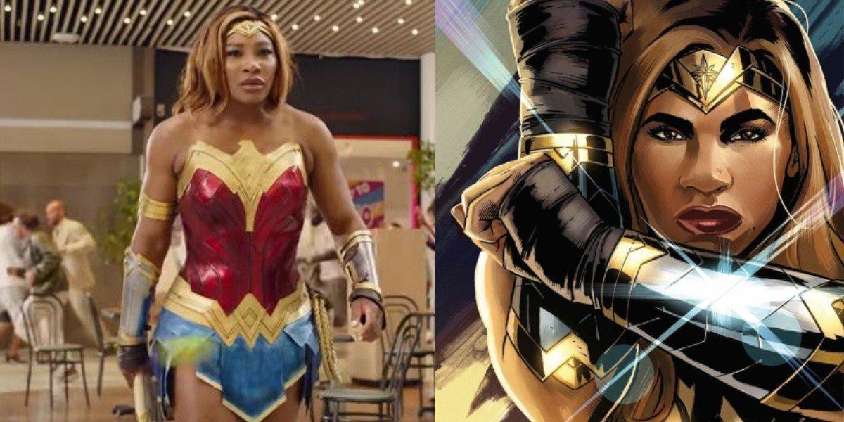 Serena Williams se convierte en Wonder Woman en cómic de DC