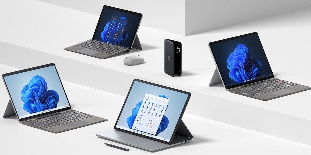 Surface Pro 8, Go 3, Duo 2, esto es lo nuevo, características y precios de Microsoft
