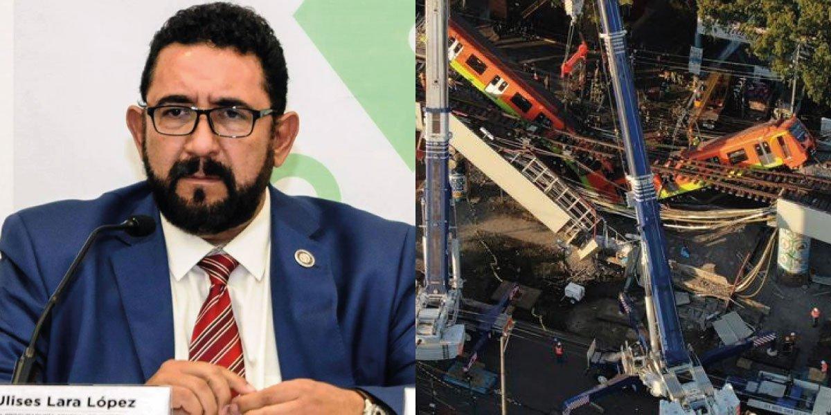 FGJCDMX revela que indaga 3 delitos por colapso de Línea 12 del Metro