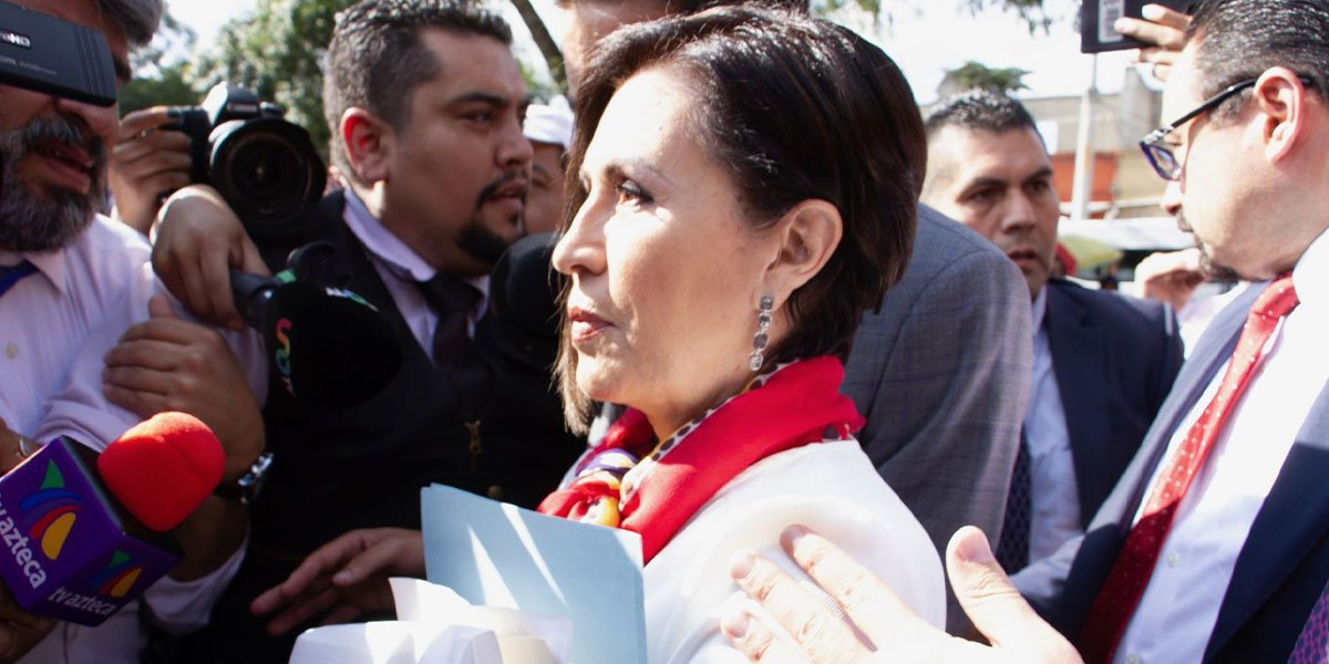 Defensa de Rosario Robles señala que es posible que FGR saque otra orden de aprehensión para mantenerla en prisión