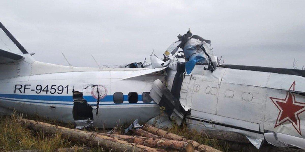Se registró accidente en un avión ligero de Rusia; 16 personas fallecieron