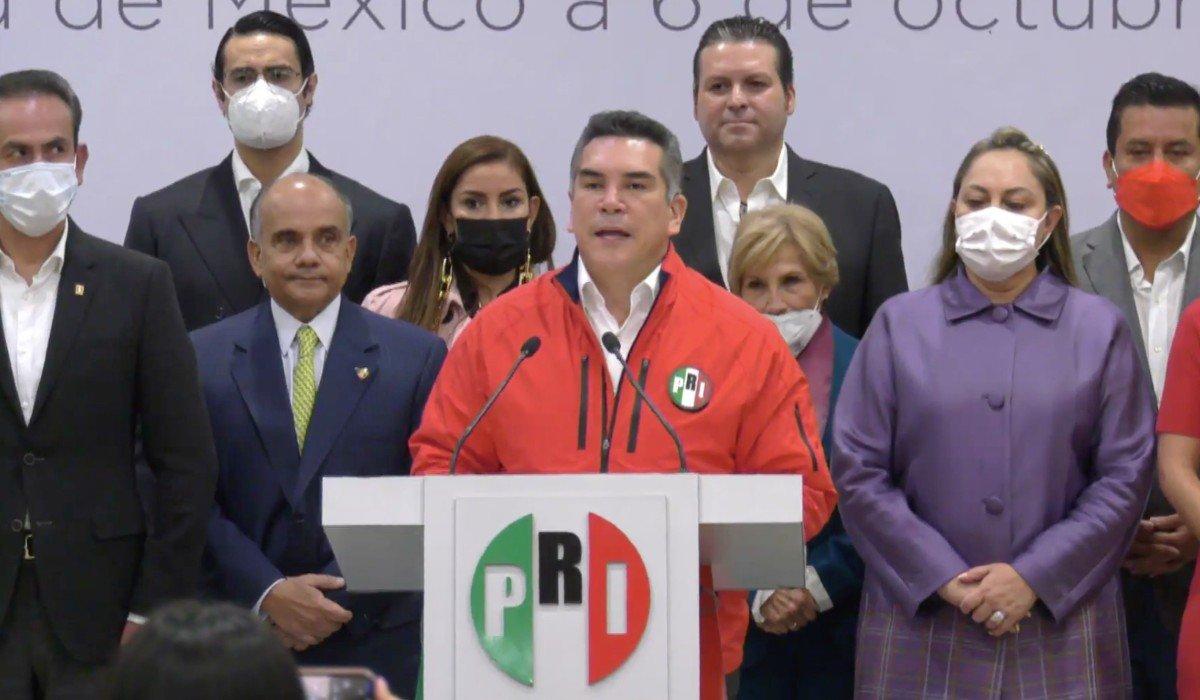 Alito anuncia cambios en el PRI: se incorporan 4 senadores, 2 diputados, un exgobernador y regresa Graciela Ortiz