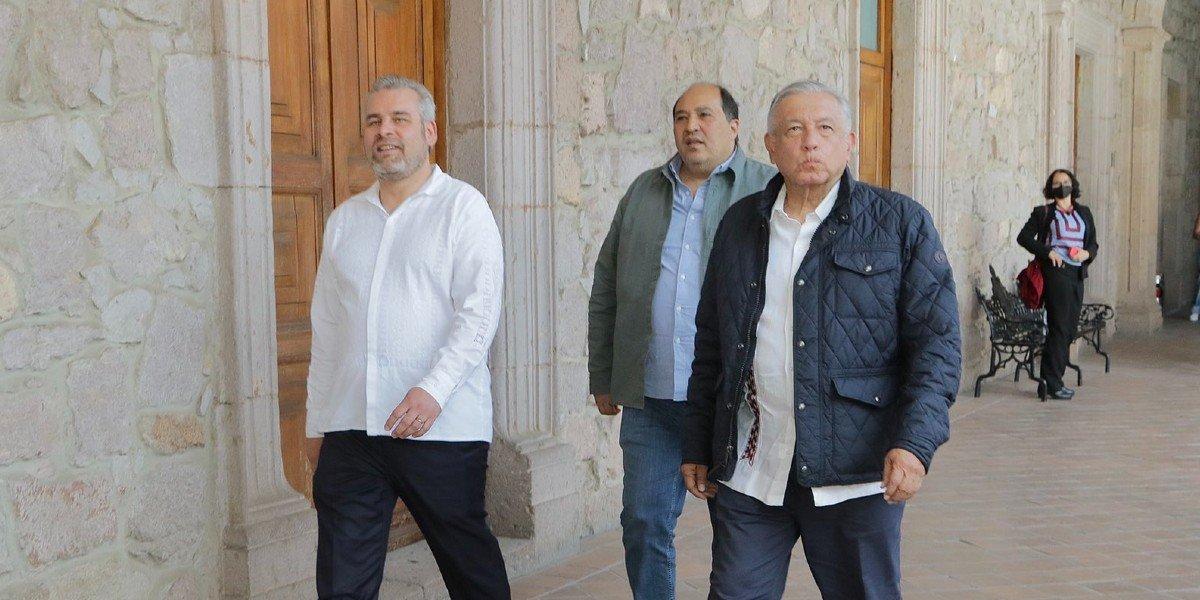 AMLO manifiesta apoyo a Ramírez Bedolla: 'ya no voy a tener nada que me impida venir libremente a Michoacán'