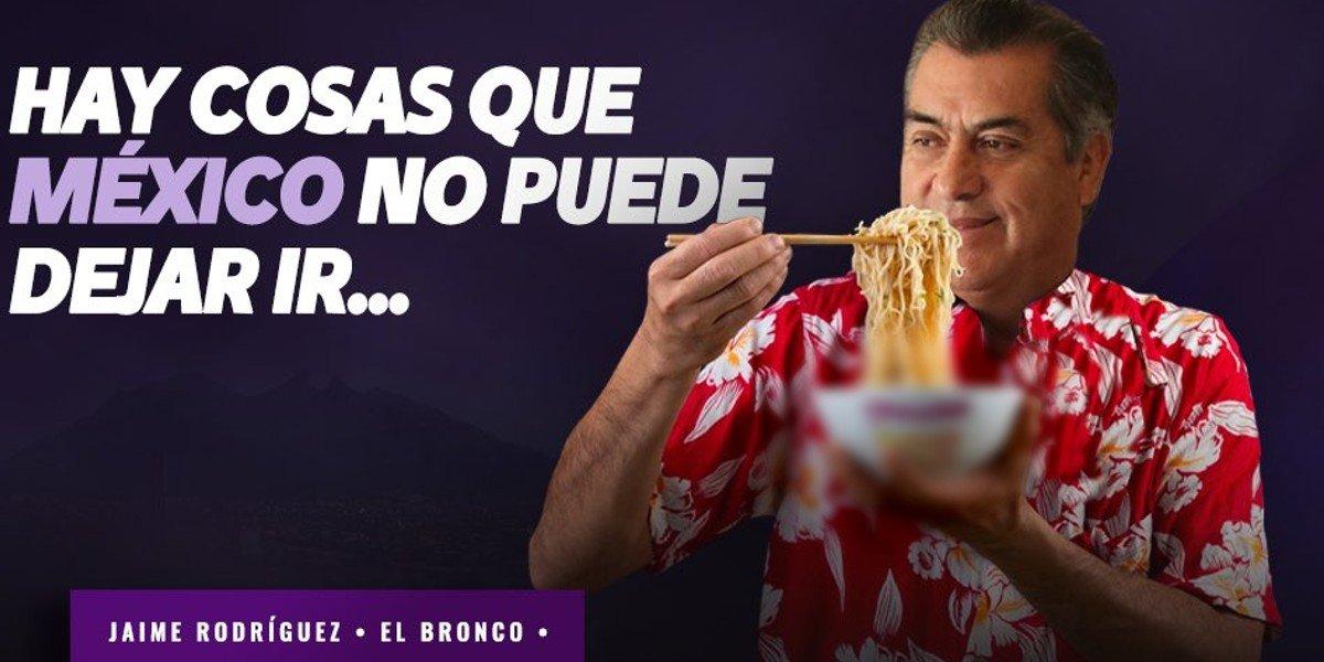 Bronco celebra que marca de sopa instantánea siga a la venta: 'una victoria para México'