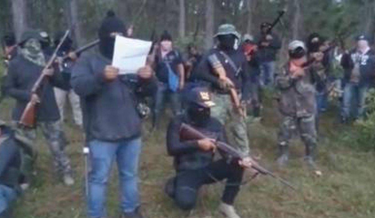 Surge otro grupo armado en Chiapas para respaldar bloqueos contra algunos alcaldes electos