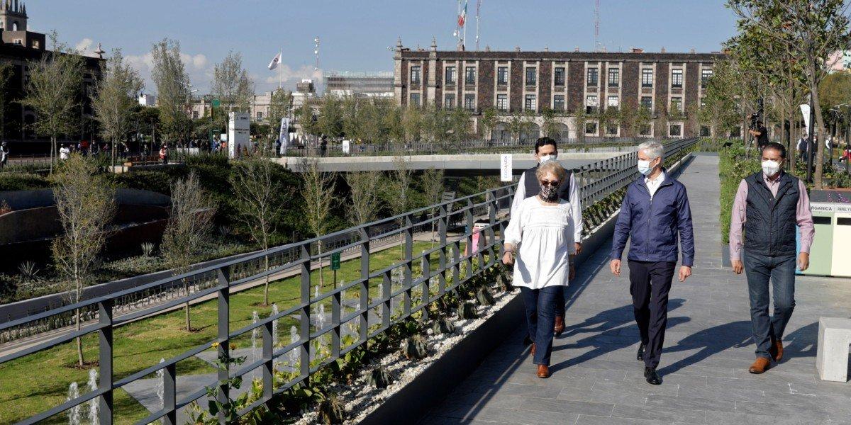 Del Mazo destaca que Parque de la Ciencia Fundadores, en Toluca es la obra más importante desde hace 40 años