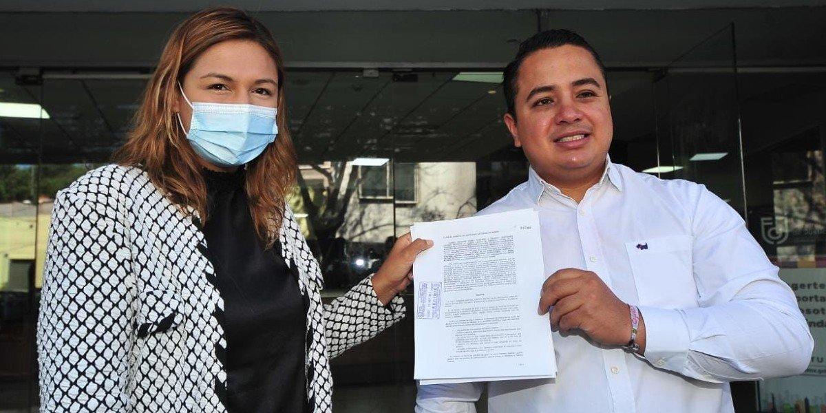 Diputados de Morena denuncian ante la FGJCDMX a Sandra Cuevas, alcaldesa de Cuauhtémoc